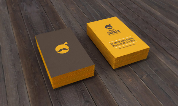 11 Restaurant Branding Business Card